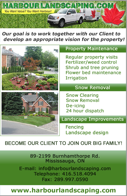 Master Waterproofing and Harbour Landscaping - Mississauga Ontario